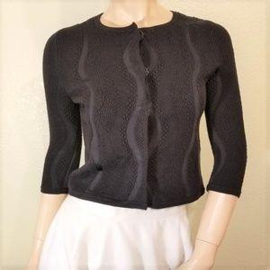 Diane Von Furstenberg DVF P XS Cardigan Sweater